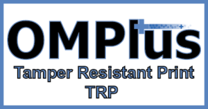 Plus Technologies, OM Plus, Tamper Resistant Printing, TRP, Ohio Hospital Purchases Tamper Resistant Rx, Tamper Resistant Print